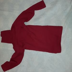 Red Turtle neck